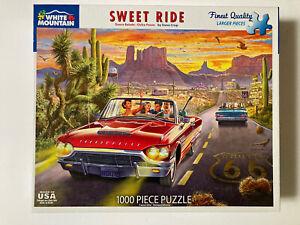 White Mountain Puzzle Sweet Ride 1,000 pieces