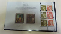 GB MINT STAMPS PRESTIGE BOOKLET PAGE FROM DX17 1995 SG NI 70d  PANE 3 NAT TRUST