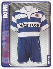 275 HOME KIT ENGLAND READING.FC STICKER FL CHAMPIONSHIP 2010 PANINI