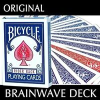 Brainwave Deck - Bicycle Poker Size Brainwave Deck - Red or Blue Playing Cards