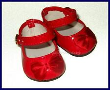 """RED Patent Mary Jane Style Doll SHOES fit 18"""" Chatty Baby American Girl"""