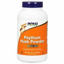 NOW Foods Psyllium Husk Powder Dietary Fiber, 12 oz INTESTINAL HEALTH