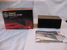 Vintage General Electric Portable Zonar Burglar Alarm 8250-003 Made In Ireland