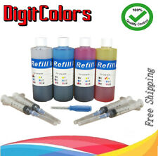 Premium Ink Refill Kit for Canon PG-245, CL-246, PG-245XL, CL-246XL BK/C/M/Y