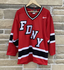 Nike FDNY Hockey Jersey Size S NYC Fire Department