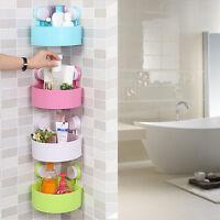 Home Kitchen Tidy Holder Bathroom Shower Caddy Organizer Rack Shelf W/ Sucker
