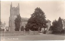 RARE OLD R/P POSTCARD - ST ALBAN'S CHURCH - FRANT - SUSSEX C.1923 by W. Rayner
