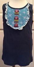 NWOT girls tween MATILDA JANE Paint By Numbers PEACOCK Cookie Tank Top size 10