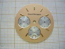 Cadran montre vintage Girard Perregaux,,Zifferblatt.Chrono,chronographe,dial