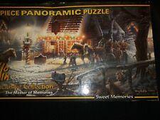 Puzzle Panoramic Terry Redlin Sweet Memories Exclusive collect 700 pcs box bent