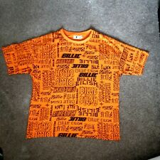 More details for billie eilish t shirt orange large