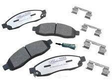 Disc Brake Pad Set-Ceramic Pad Kit with hardware Front Autopartsource VP1015K