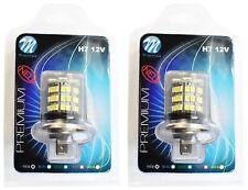 2 AMPOULES LED BLANC 12V H7 4,8W 48 LED 5050 SMD + 3528 SMD RENAULT LAGUNA II