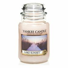 Yankee Candle Giara Grande (large Jar)lake Sunset 110-150 ore accensione 623g