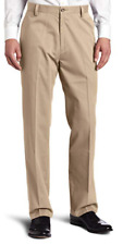 Dockers Men's Easy Khaki Classic-Fit Flat-Front Pant, British Khaki, 44W x 30L
