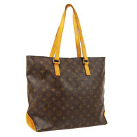 LOUIS VUITTON CABAS MEZZO SHOULDER TOTE BAG PURSE MONOGRAM M51151 TH0042 A51505