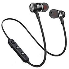 AURICOLARI BLUETOOTH 4.1 STEREO SPORT SENZA FILI Cuffie Wireless Microfono Audio
