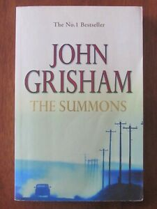 THE SUMMONS by JOHN GRISHAM S/C 2002 EXC LAW CRIME THRILLER