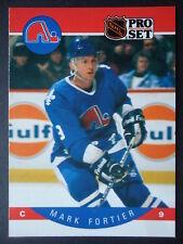 NHL 245 Mark Fortier Quebec Nordiques Pro Set 1990/91