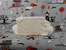 Halloween RIP Tombstone (H46) Ceramic Bisque You Paint