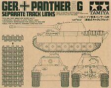 Tamiya 1/35 Panther G Separate Track Links # 35171