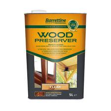 1L&5L Barrettine PREMIER Wood Preserver stain paint decking shed fence treatment