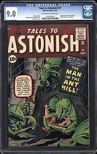 Tales to Astonish #27 CGC 9.0 VF/NM Marvel 1st Ant-Man Avengers OW/W Pages RARE