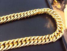 Collar de bisutería de piedra de oro amarillo