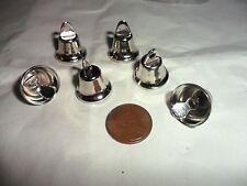 Vintage Silvertone Metal Liberty Bells lot of 6