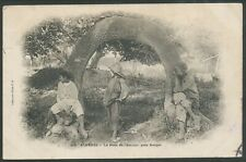 More details for algeria france 1905 rural postcard used to malta with postag due bin price gb£10