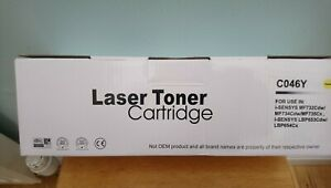 Toner Cartridge Compatible For Canon 046Y - Yellow - CLEARING JUST £29.99