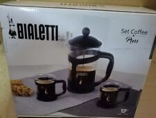 Bialetti 3-Piece Coffee Press Set 6 Cup Press NEW