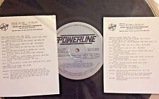 Radio Show: POWERLINE 9/21/90 PHIL COLLINS, TAYLOR DAYNE, GEORGE HARRISON,NELSON