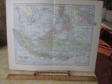 Vintage Print,EAST INDIA ISLAND,Map,Dodd Mead,1907