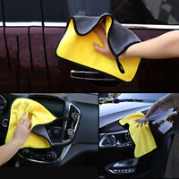 Super Absorbent Coral Velvet Car Care Double-dimensional Thick Car Wash Towel