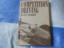 Paul FRERE concurrence conduite FERRARI 250 GT PORSCHE 356 talons et bouts Le Mans