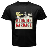 Blondie Rage and Rapture Men's Black T-Shirt Size S to 3XL