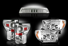 2007-13 Toyota Tundra Clear Headlights Taillights & 3rd Brake Light - 5pc Kit