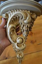 ornate art deco wall shelf-hollywood regency-mid century sconce