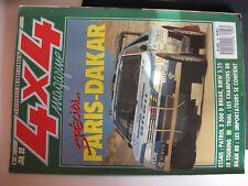 **no 4x4 magazine n°88 11e Paris Dakar / Nissan Patrol 3 300 D Châssis long