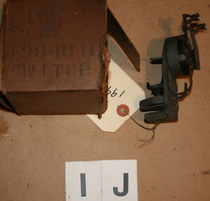 OE 1940 Chevrolet Master 85 Headlight Switch ~ GM Part # 1994016