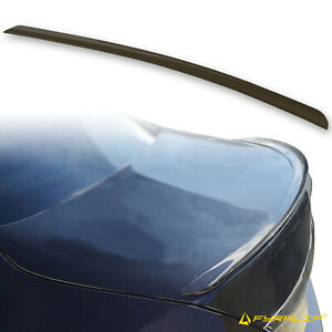 Fyralip Y22 Painted 183 Black Trunk Lip Spoiler For Mercedes-Benz W205 Sedan