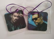 More details for george michael car air fresheners 8x8cms pack of 2