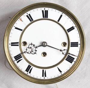 3 weight Vienna regulator clock movement, dial, & bracket only @ 1890 Original