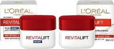 L'OREAL Revitalift Anti-Wrinkle + Firming DAY Cream AND NIGHT Cream 50ml EACH