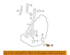 TOYOTA OEM Front Seat Belt-Buckle Mount Bolt 9008411055