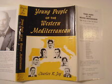 Young People of the Western Mediterranean, Charles Joy, Dust Jacket Only