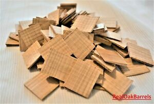 Oak Staves, Oak Chips, Oak Cubes for Maturing Aging Spirits, Home-Brewing