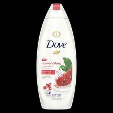 3x Dove Rejuvenating body wash, pomegranate and hibiscus