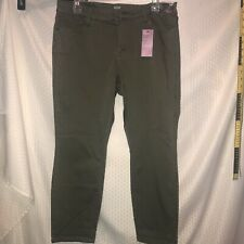 ANA a New Approach Women's Skinny Ankle Pants Size 14P